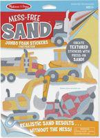 Melissa & doug mess free sand jumbo foam stickers -