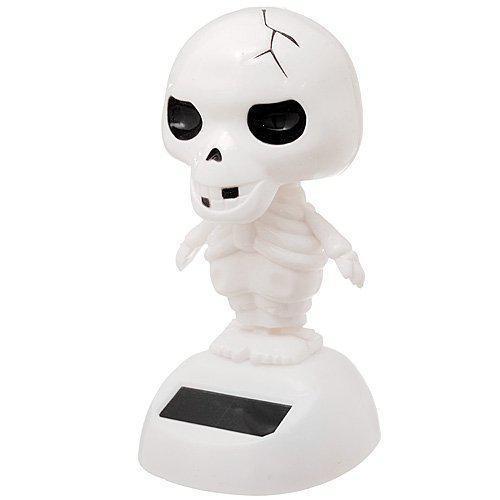 Solar bobblehead toy figure