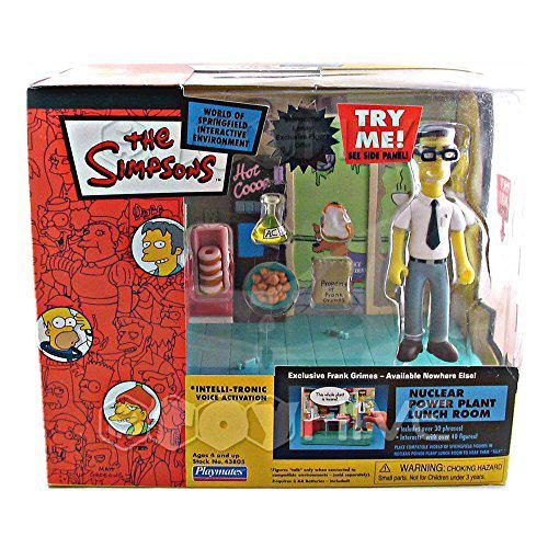 The Simpsons Series 15 Playset Nuclear Power Plant Lunchroom