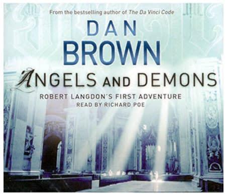 Angel's & demons- audio book dan brown 6 cd.