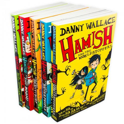 Danny wallace harnish 5 book pack