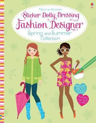 Designer spring and summer collection: sticker dolly