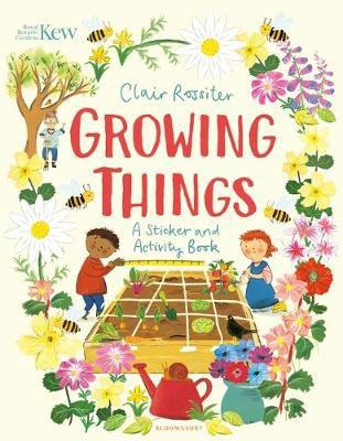 Kew: growing things - a sticker and activity book
