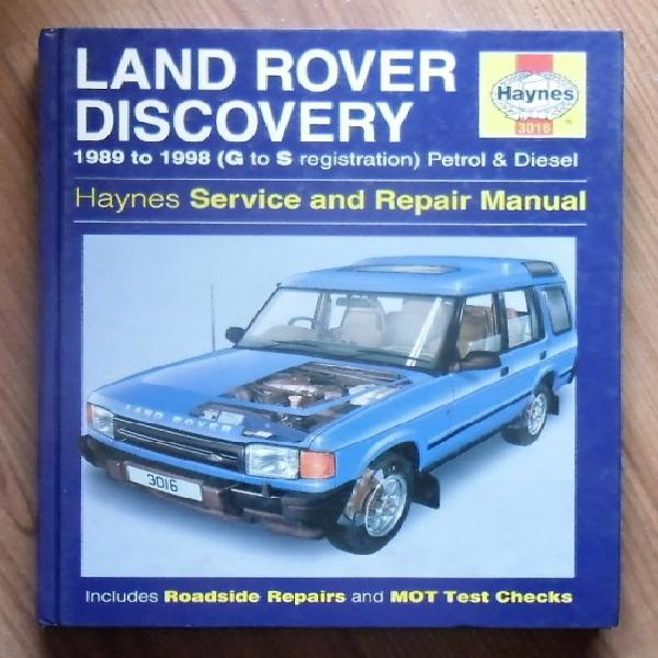 Land rover discovery 1989 to 1998 (g to s registration)