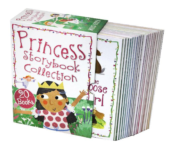Princess storybook 20 book collection box-set