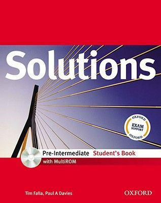 Solutions: pre-intermediate: student's book with multirom