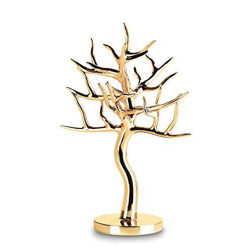 Accent plus lady jewelry holder, gold tree girls hanging