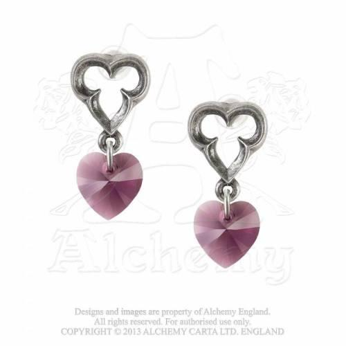 Alchemy Gothic E346 Elizabethan Stud Earrings (pair)