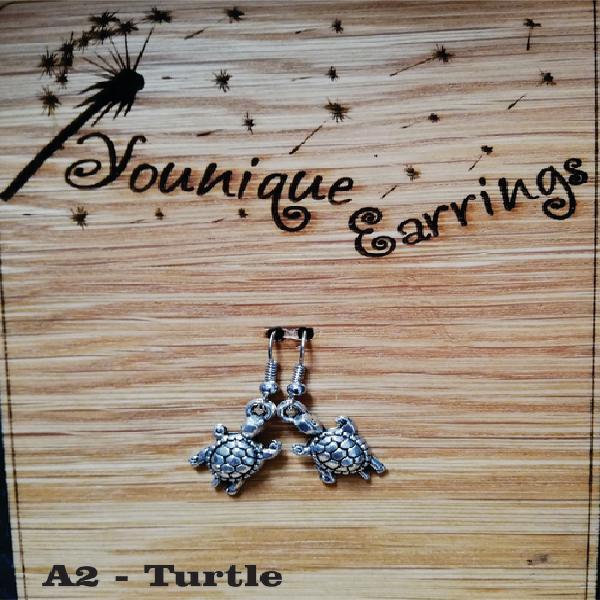 Animal turtle earrings