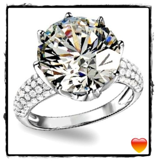 Exquisite 5.50ct cr.diamond engagement ring, solitaire prong