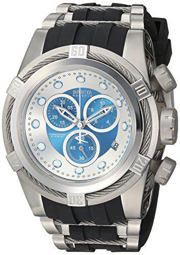 Invicta reserve 52mm bolt zeus swiss quartz chronograph