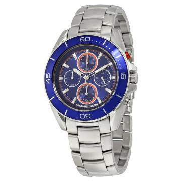 Michael Kors Jetmaster Blue Dial Chronograph Men's Watch