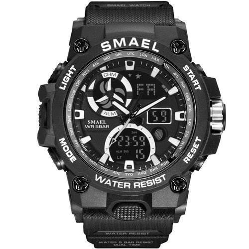 Smael black sl8011 sports watch