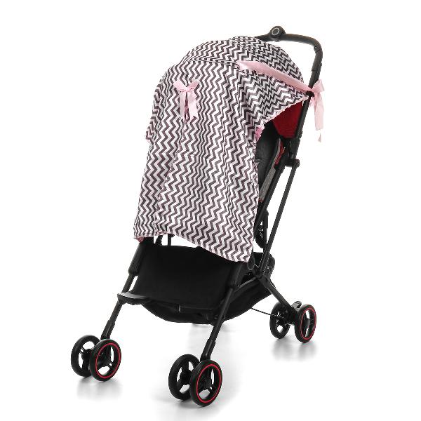 Baby stroller sunshade breathable muslin pram car seat