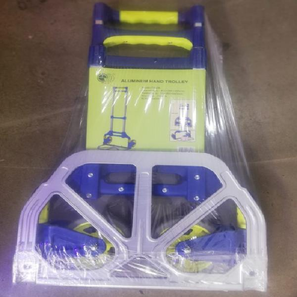 Heavy duty folding hand truck trolley