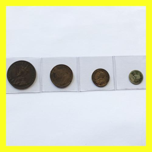 King george v union coin set