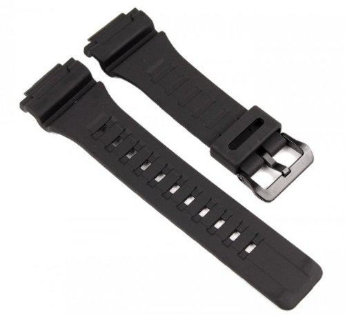 Casio watch strap watchband resin band black for aq-s810w