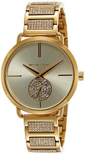 Michael kors women's portia mk3852 gold stainless-steel