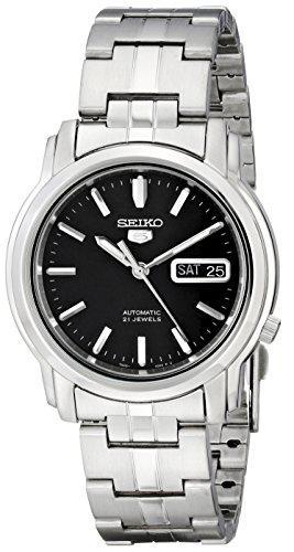 Seiko men's snkk71 seiko 5 automatic stainless steel watch