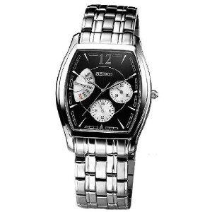Seiko men's snt013 dress stainless steel bracelet watch