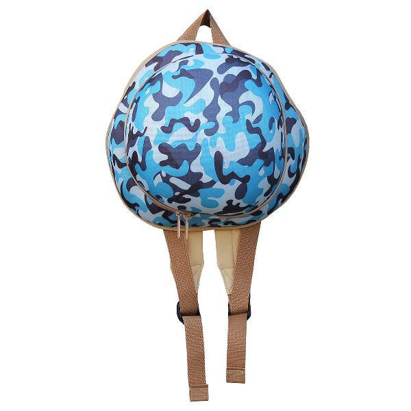 Backpack helmet - blue (free shipping)