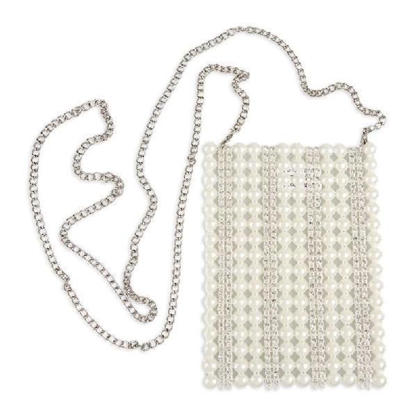 Tessa design pearl satchel
