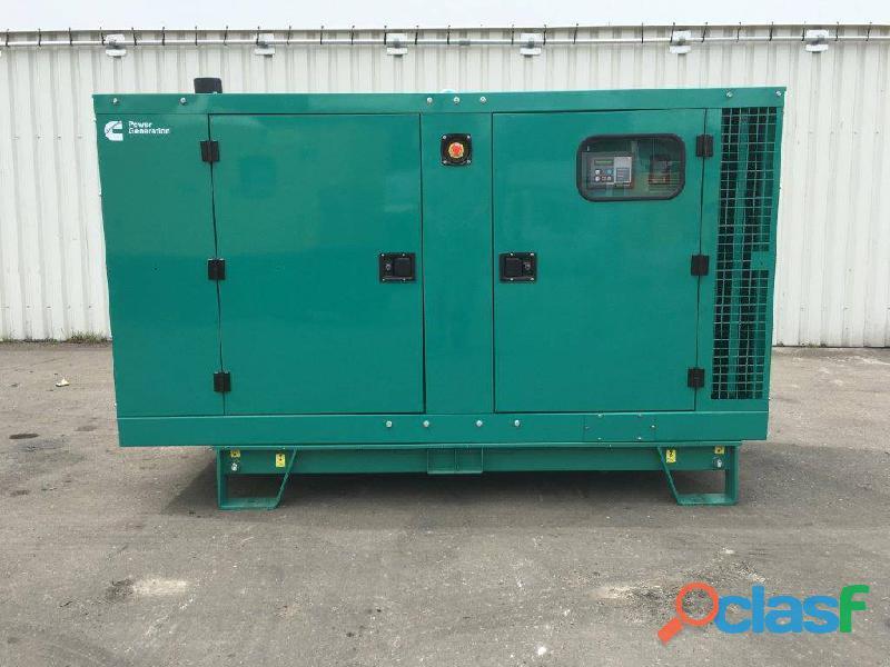Cummins 30kva silent 3 phase ats diesel generator