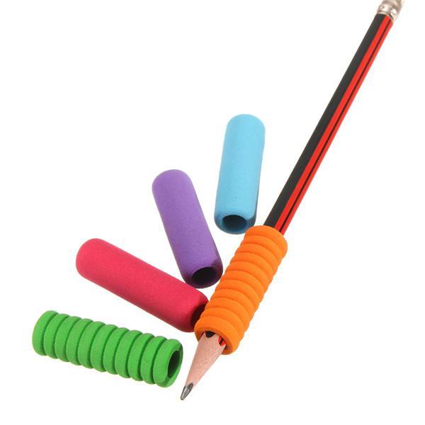 5pcs Comfort Soft Foam Pen Pencil Handwriting Grips For
