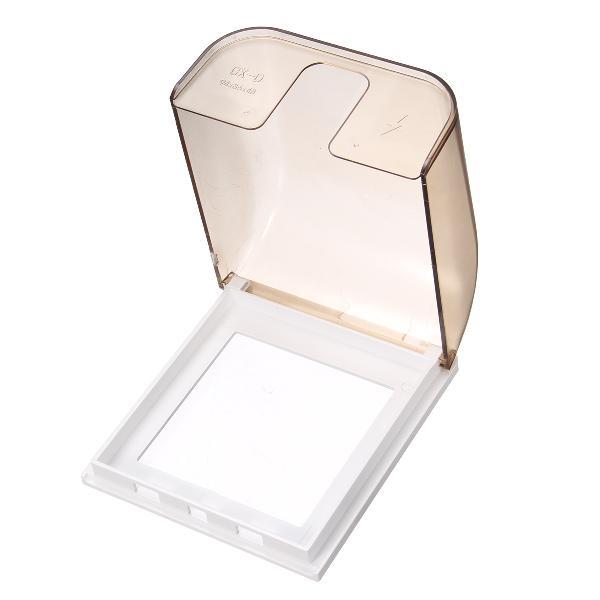 86 Concealed Wall Switch Gold Matte Waterproof Box Splash