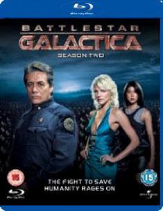 Battlestar galactica - season 2 (blu ray)