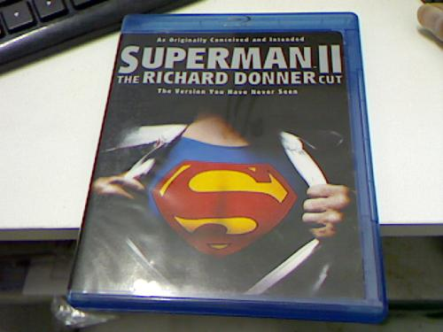 Superman ii: the richard donner cut blu ray
