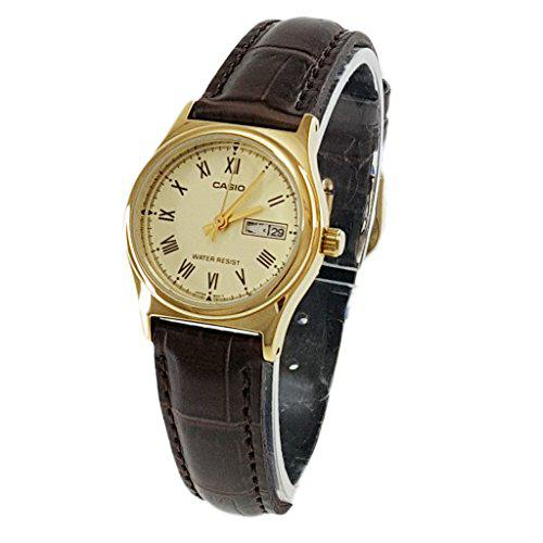 Casio ladies ltp-v006gl-9budf wristwatch