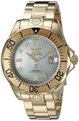 Invicta men's 16033 pro diver analog display automatic self
