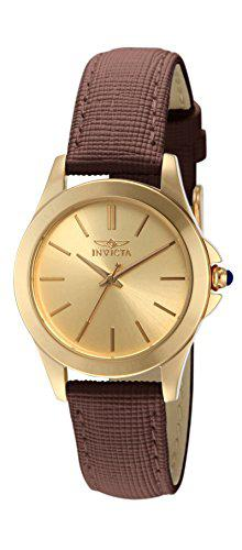 "Invicta women's 15150 ""angel"" 18k yellow gold ion-plated"