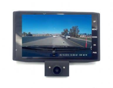 4 inch fhd 1080p car dvr 3 camera lens dash cam