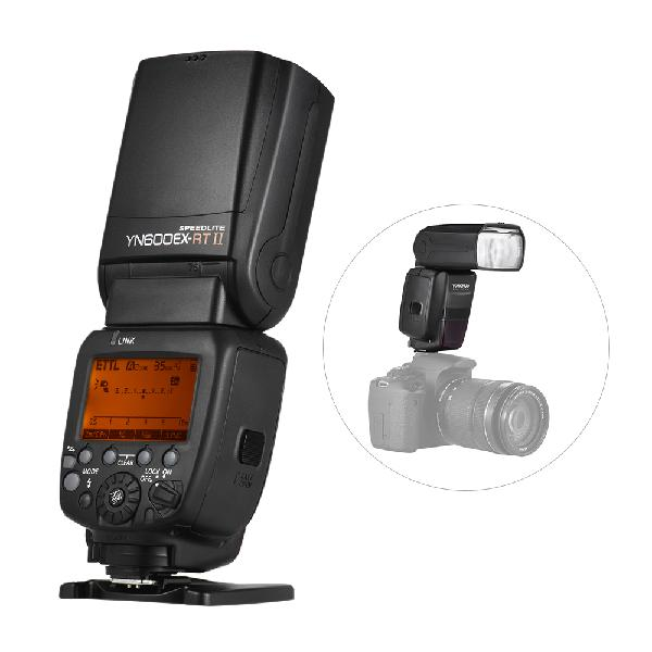Yongnuo yn600ex-rt ii 2.4g wireless hss master ttl flash