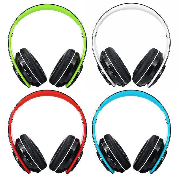 Foldable bluetooth 5.0 wireless headset earphone support fm