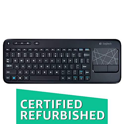 Logitech wireless touch keyboard k400 with built-in