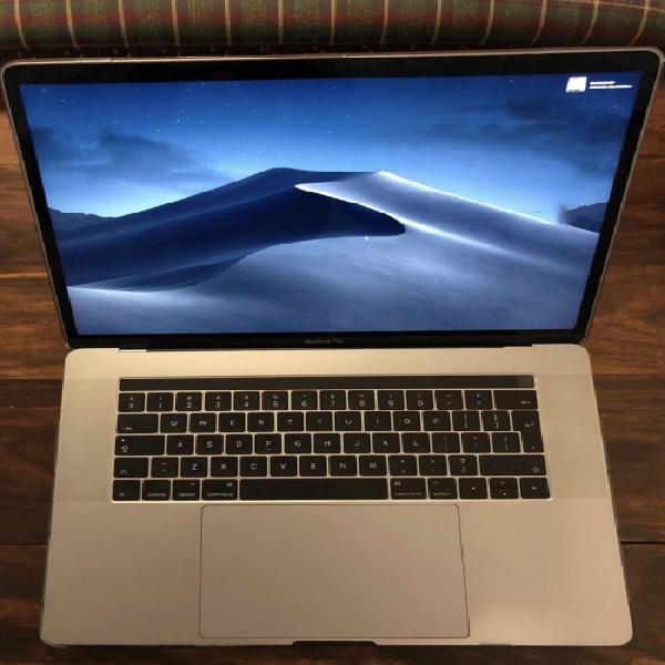 Macbook pro (15-inch, 2016) with touchbar.