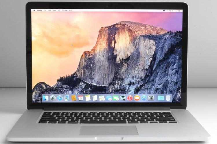 "Macbook pro ""core i7"" 2.3 15"" retina 2012, 8gb ram, 500gb"