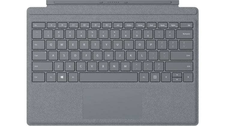Microsoft surface pro signature type cover (platinum,
