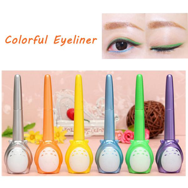 Charming long lasting dual use colorful eyeliner eye liner