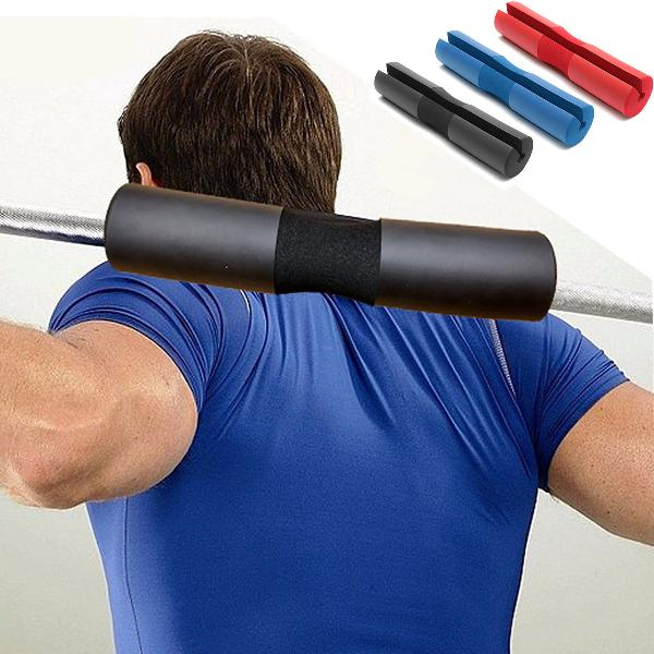 Foam padded barbell bar cover pad gym weight lifting squat