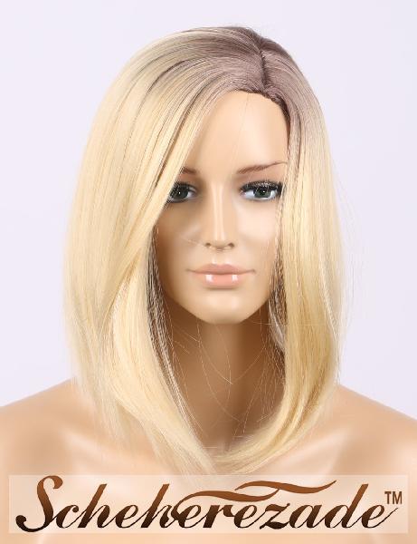 Scheherezade 27/613 ombre blonde wigs for women high lights
