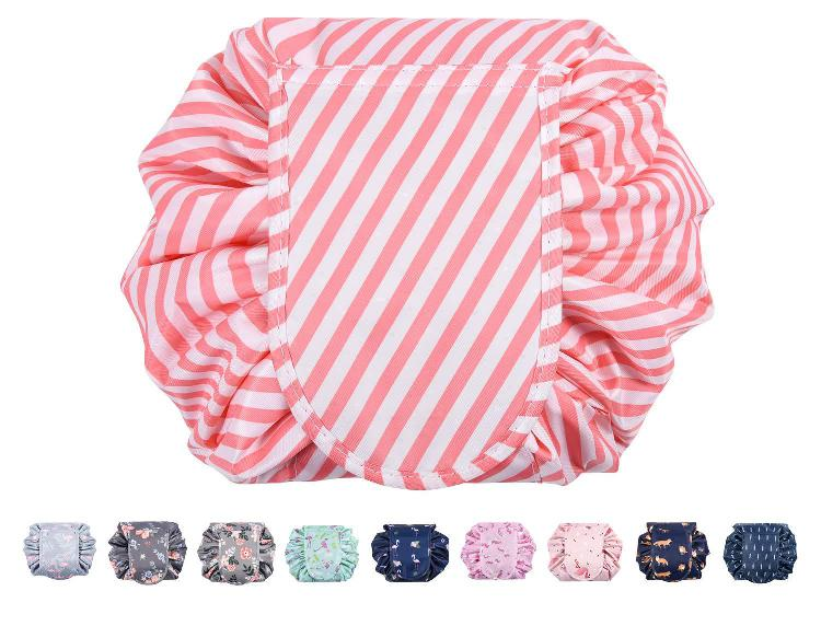 Ikammo lazy makeup bag portable drawstring cosmetic bag