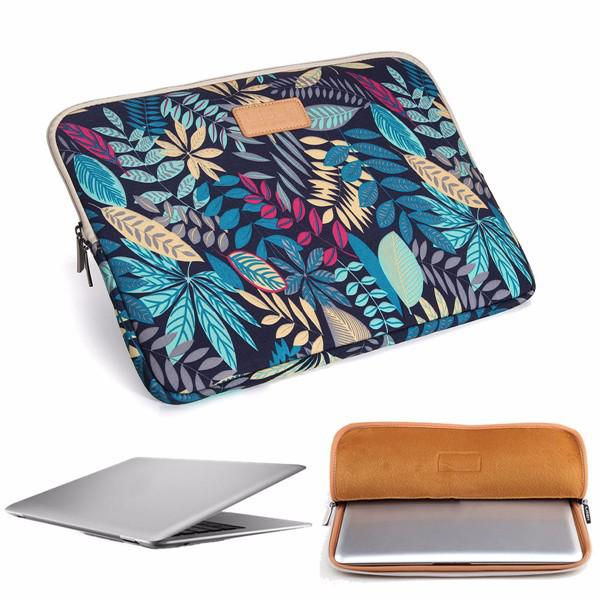 15.6 inch soft canvas bag case cover sleeve pouch ffor