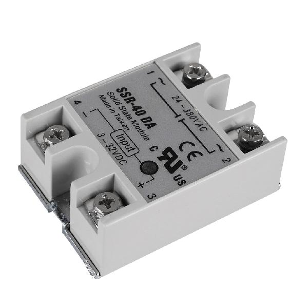 24v 40a single phase ssr-40 da solid state relay module for