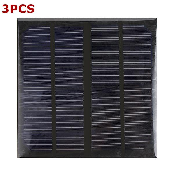 3pcs 3w 6v epoxy solar panel solar cell panel diy solar