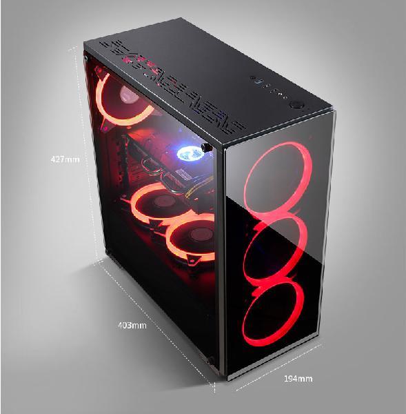 Special**brand new* intel i3 8100 8th gen gaming desktop pc