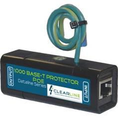 Single port gigabit poe in-line protector
